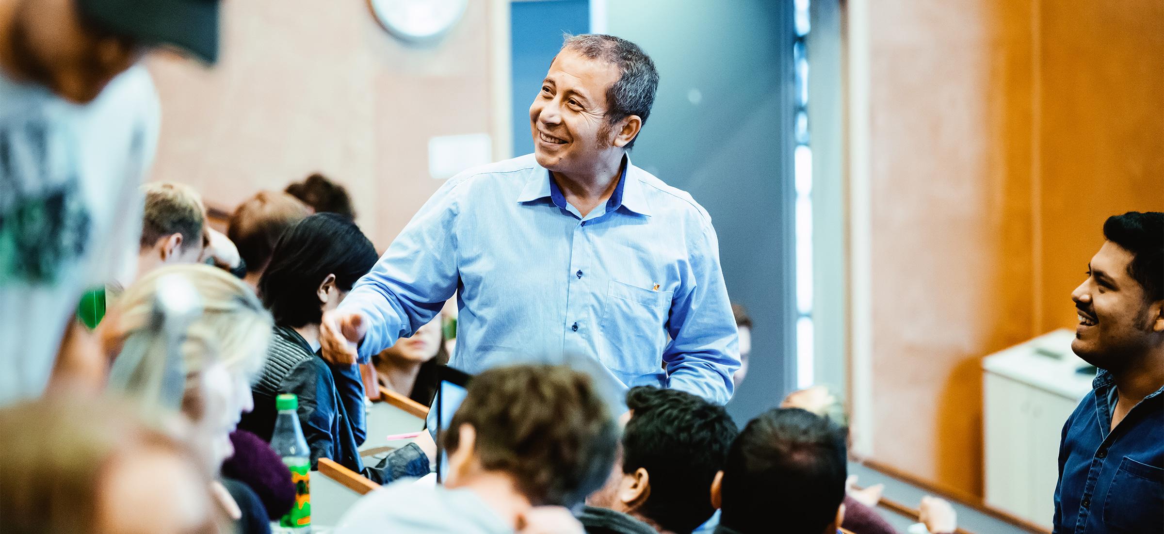 Bassam Hussein, førsteamanuensis ved Institutt for produksjons- og kvalitetsteknikk ved NTNU.