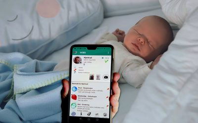APP for foreldre med hjertesyke nyfødte barn  – oppgaven som ble et produkt